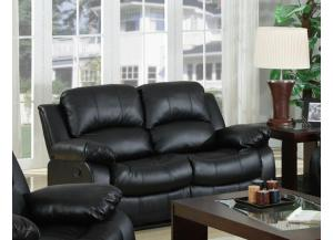 644 Black Loveseat