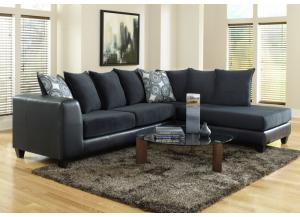 4502 Blue Sectional
