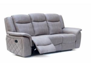 628 Gray Reclining Sofa