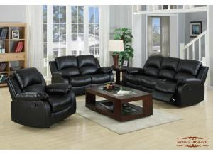 644 Black Sofa and Loveseat