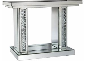 Nysa II Mirrored Console Table