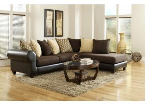 4510 Brown Sectional