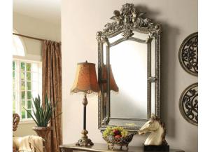 Kelsey Bronze Taupe Accent Mirror