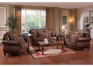 8250 Traditional Sofa and Loveseat