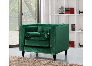 642 Green Velvet Chair