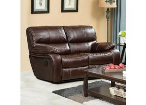 U-14000 BROWN LOVESEAT LUCY