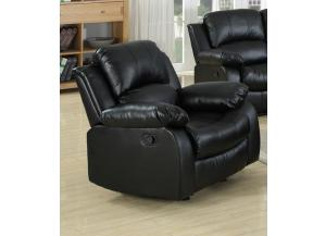 644 Black Rocker Recliner
