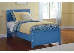 Bronilli Blue Twin Panel Bed