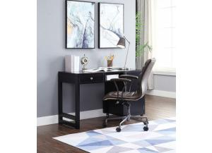 Kaniel Black Finish Foldable Desk