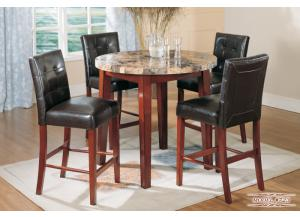 723 Round Counter Height Dinette set