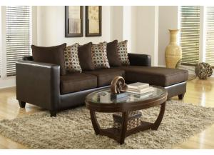 3005 Brown Sectional