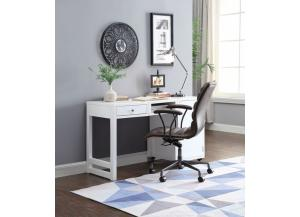 Kaniel White Finish Foldable Desk
