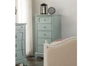 Morre Antique Teal Chest
