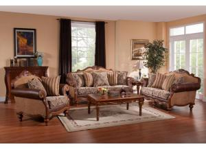 8230 Traditional Sofa & Loveseat