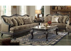 618 Traditional Sofa and Loveseat