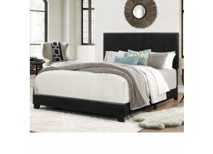 H-1016 KING FAUX LEATHER BED