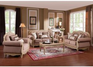 8255 Traditional Sofa & Loveseat