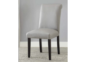 Vriel Gray PU Chair 2pk
