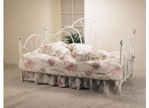 Providence 02076w White Day Bed