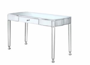 Hollywood Silver Mirrored Vanity Table
