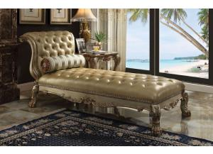 Dresden Gold Patina Chaise