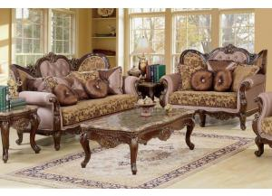 610 Traditional Sofa and Loveseat
