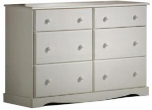Brazilian Wood Double Dresser
