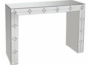 Hessa Mirrored Accent Table