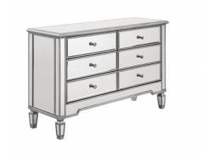 Contempo 1017 48in 6 Drawer Dresser