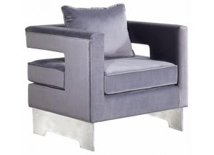 502 Grey Accent Chair