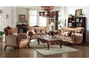 605 Traditional Sofa & Loveseat