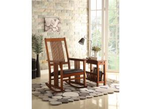 Kloris Tobacco Rocking Chair