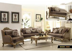 606 Traditional French Sofa & Loveseat