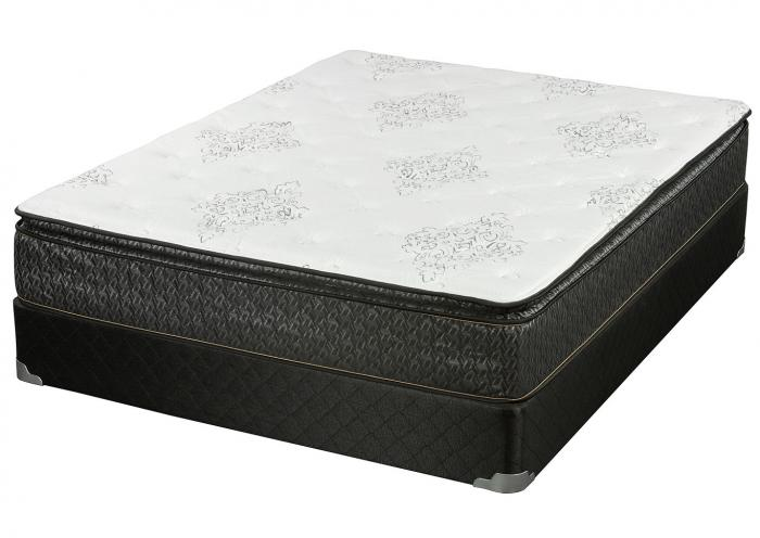 BROADWAY PILLOW TOP FULL MATTRESS W/FOUNDATION,Corsicana