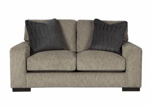 Entwine Smoke Loveseat