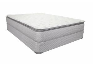 Owendale Pillow Top King Mattress Set with Foundation