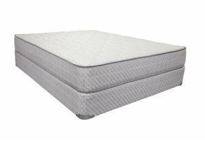 Merrick Firm Double Sided Twin Mattress Set with Foundation