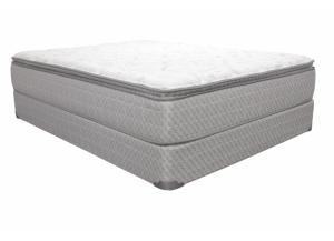 Adalina Pillow Top Twin Mattress Set with Foundation