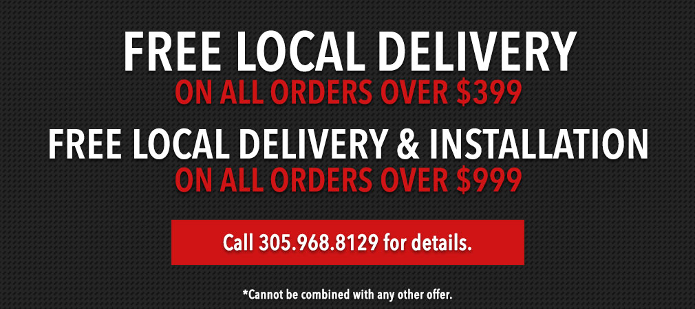 Free Local Delivery