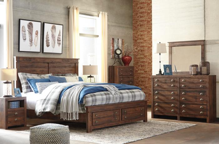 Hammerstead 7 Piece Bedroom Set,Store Products