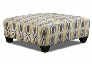 1700 Barton Chinchilla Coctail Ottoman - Contemporary