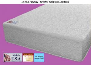 Fusion Latex Gel-Cool Soft Eastern King Size Mattress Only