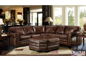 Hacienda Brown Contemporary Sectional