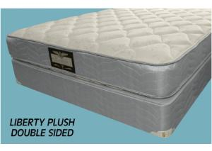 Liberty 1 Plush Double Sided Twin XL Mattress Only