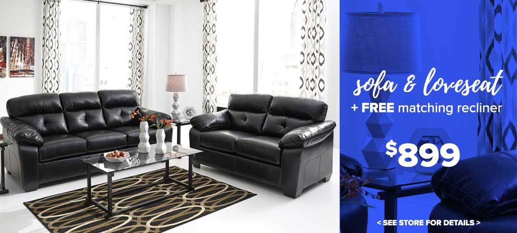 Sofa and Loveseat Sale $899