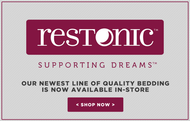 Restonic Bedding Now Available In-Store