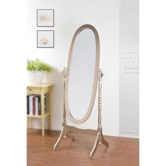 Cheval Mirror Gold,Brandywine Showcase