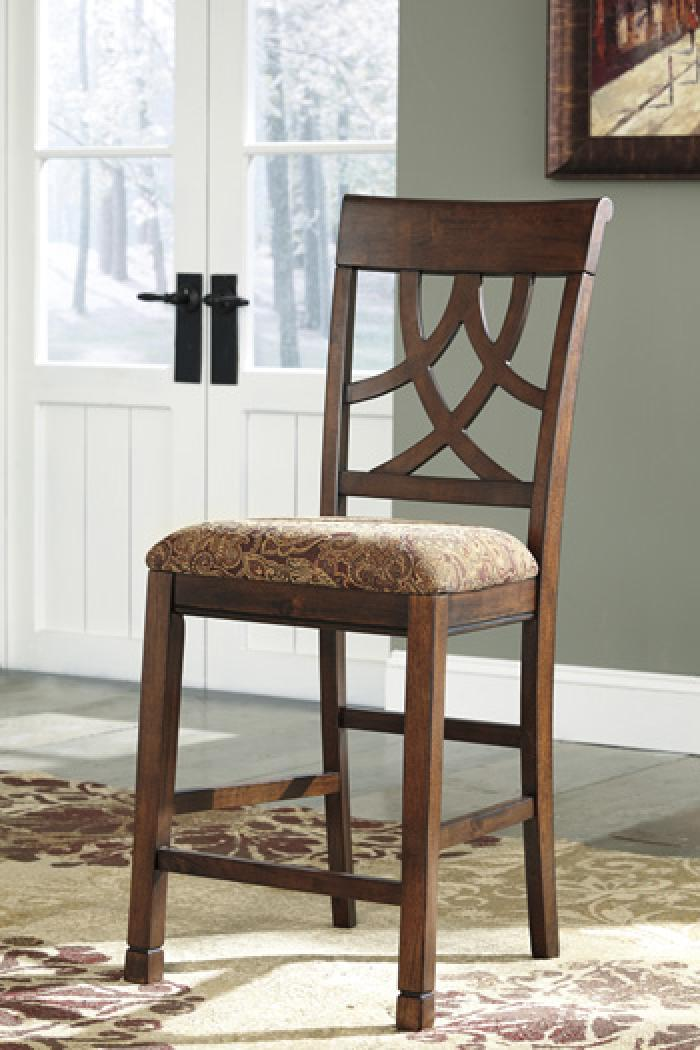 Leahlyn Old World 2 Counter Stools,Brandywine Showcase