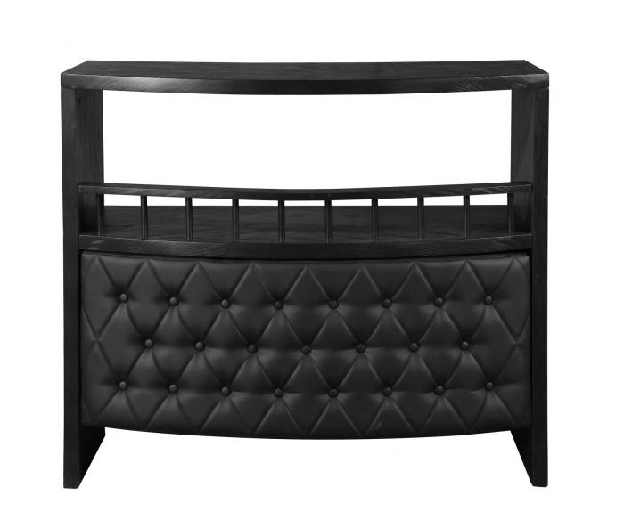 Bar Black/Black Padded Front,Brandywine Showcase