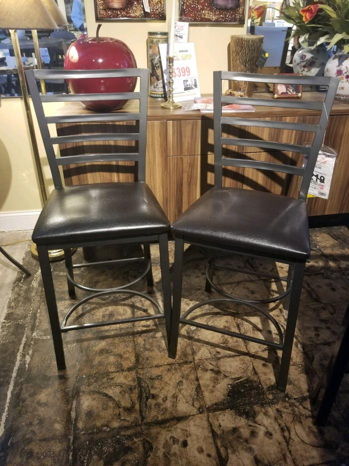 2 Fairmont Fully Welded Counter Height Stools,Brandywine Showcase
